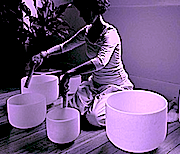 crystal-bowl set being played copy 2