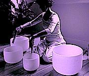 Crystal Singing Bowls